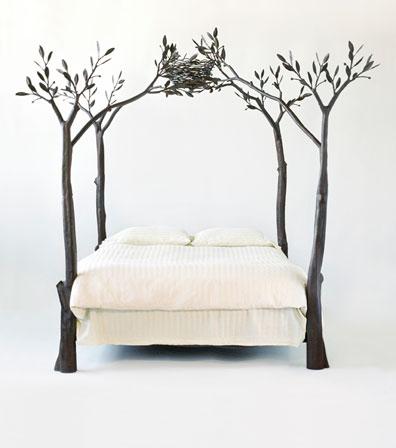 Дерево кровать