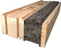 Деревянный блок с изоляцией