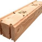 Деревянный блок, кирпич