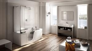 Эта удивительно компактная комбинированная ванна от Fabio Lenci