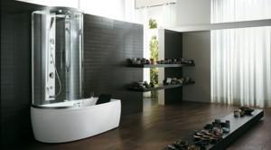 Чистый и элегантный дизайн за счет необычной изогнутой панели