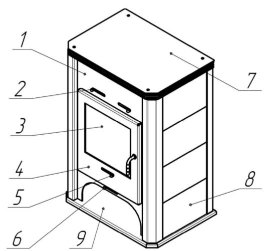 Основные элементы Бавария (арт. ПК 004)Основные элементы Бавария (арт. ПК 004)