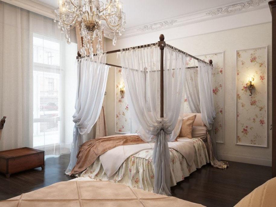 Кровати с балдахином фото своими руками