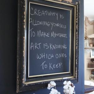 chalk-frame